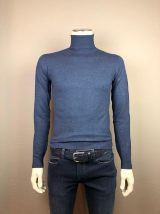 Pact coll pull Oceano jeansblauw